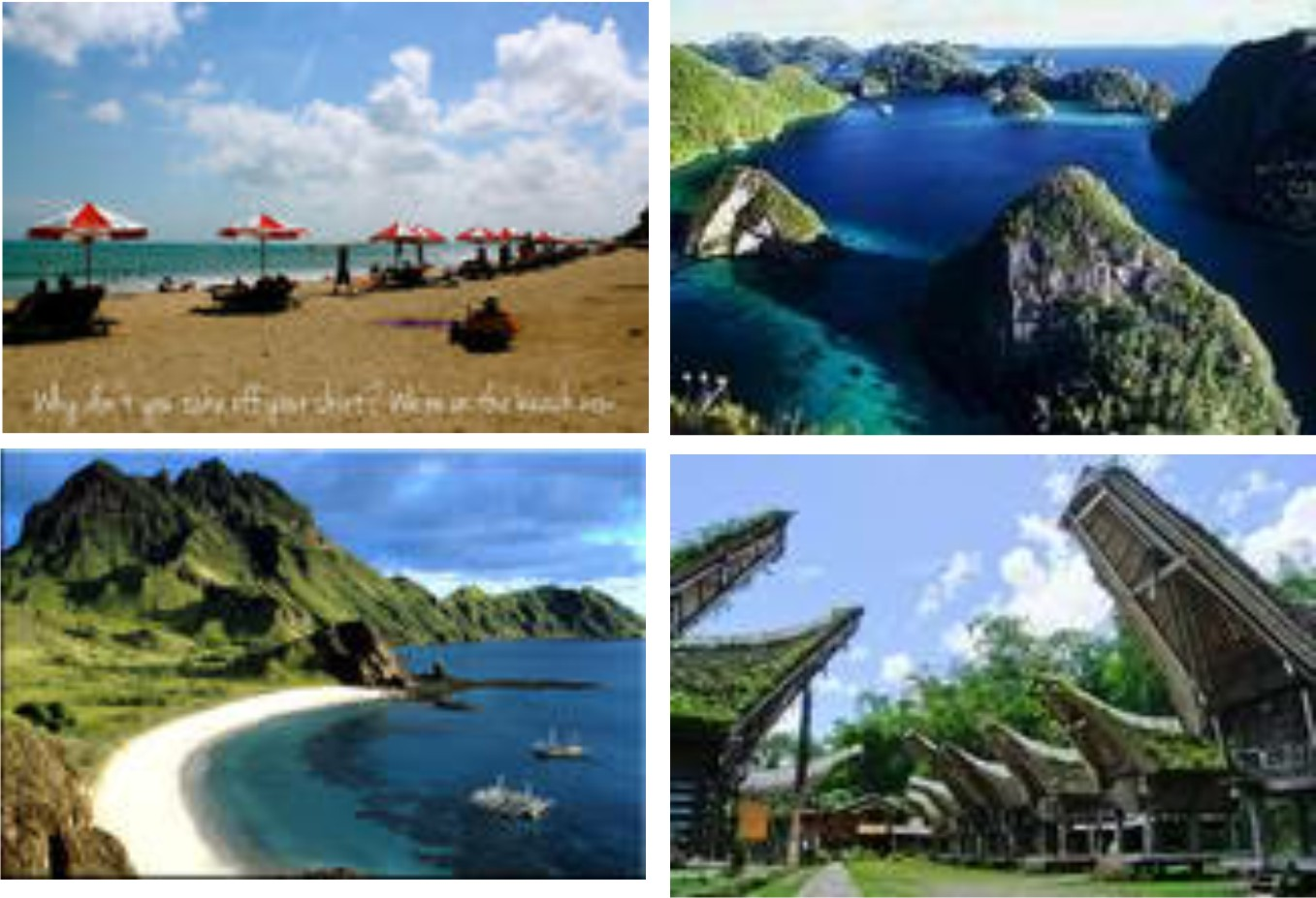 Lima Tempat Wisata Di Indonesia Yang Paling Banyak Dikunjungi
